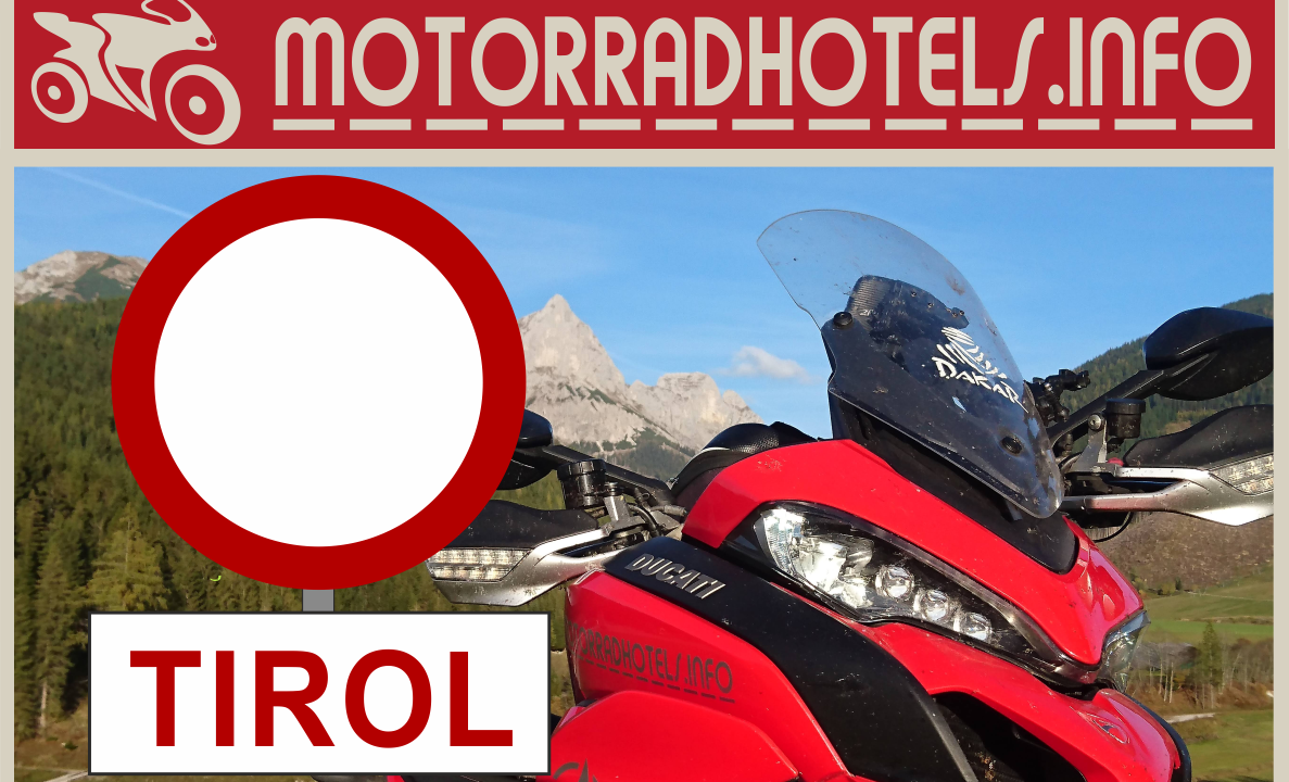 Motorradfahrverbot